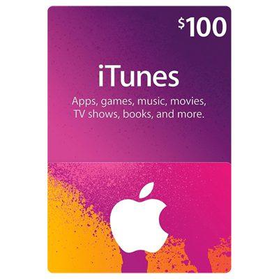itunes $100 lahorebay